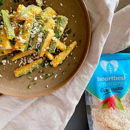 Zucchini Parmesano Heartbest