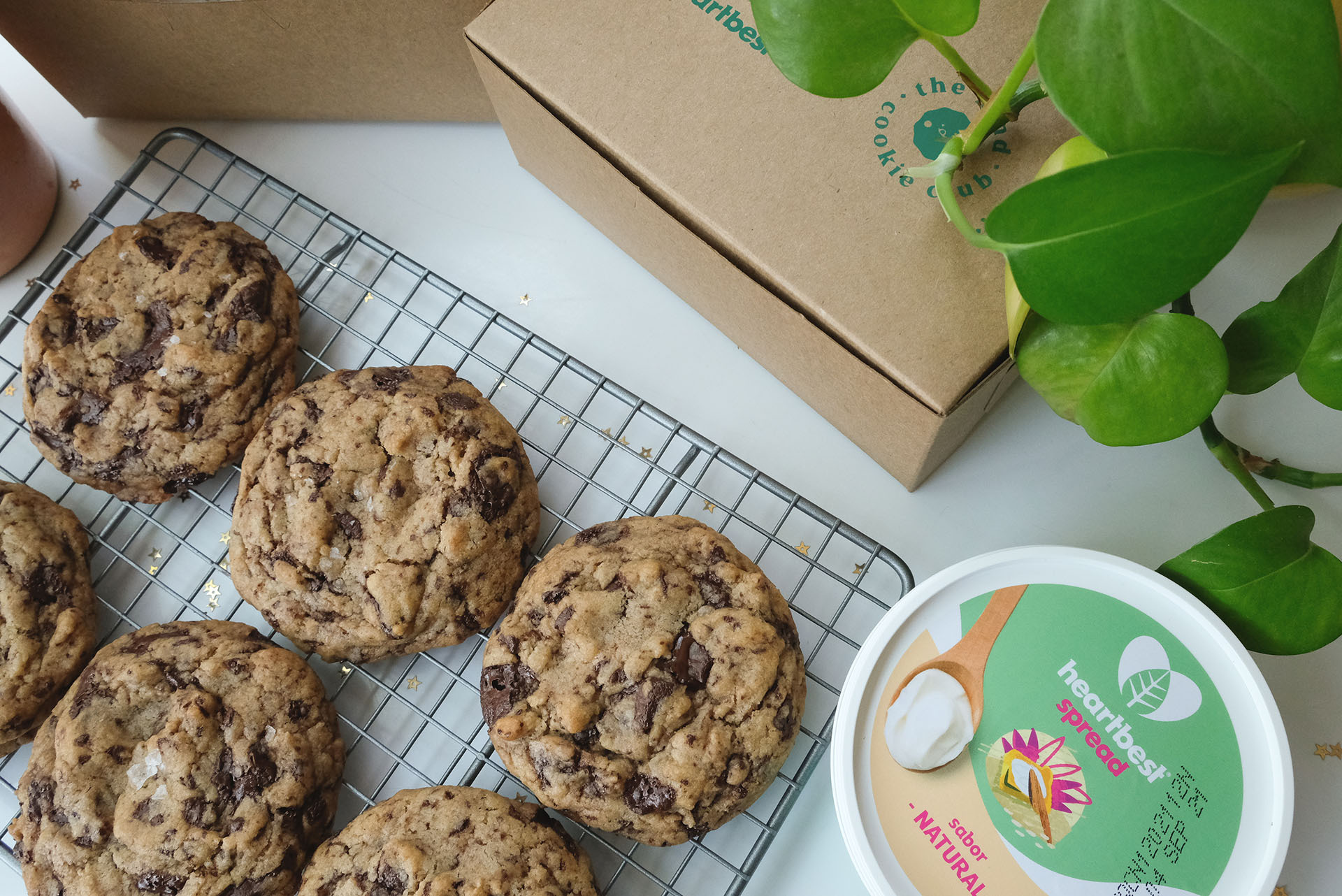 The Kind Plant-Based Cookie x Heartbest